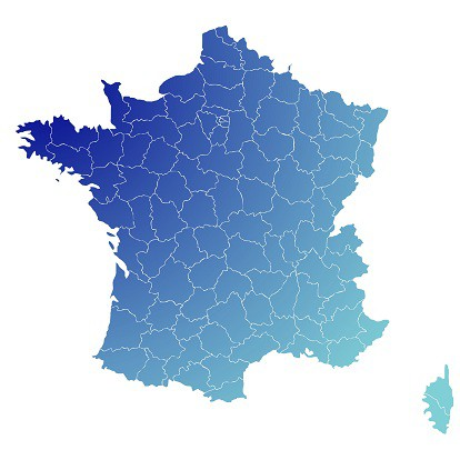 carte france ehpad